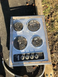 gray and black electric coil range oven Hyattsville, 20783