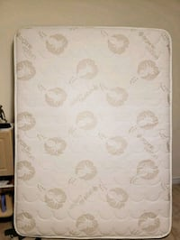 white and gray floral mattress 540 km