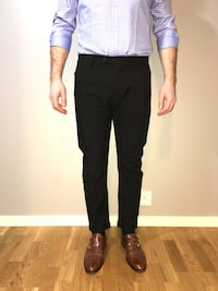 Short ankle slim fit pants
