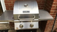 Stainless steel Nexgrill outdoor gas grill