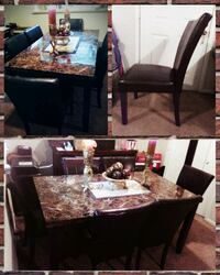 Dining room table and chairs Lafayette