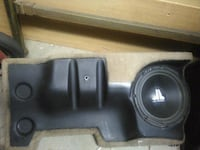black car subwoofer with enclosure Los Angeles, 91326