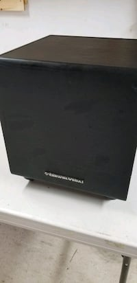 Subwoofer for surround sound system
