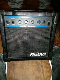 black and blue FirstAct guitar amplifier San Antonio, 78201