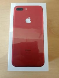 brand new iphone 7plus 128GB red