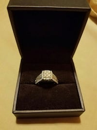 10k white gold diamond ring  Phoenix