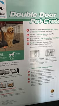 Double Door Large Pet Care Cage  London, N5V