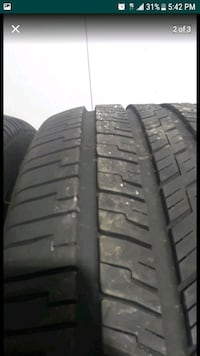 2 New tires Goodyear p255/50R20 Herndon