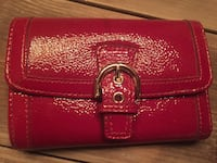Coach burgundy patent leather wallet authentic  Hamilton, L8L 1X4