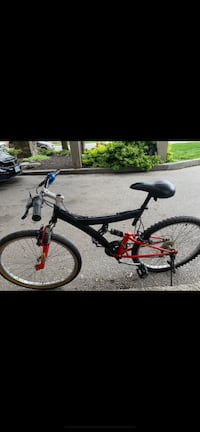Mountain Bike with bike lock, bell and water bottle holder