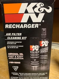 KN air filter cleaning kit