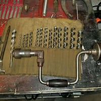 1910 hand drill. Excellent condition.  Springfield, 65803