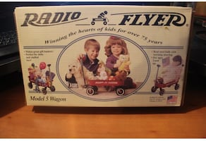 New In Box Radio Flyer Model Wagon-Perfect for dolls, stuffed animals, or gift baskets!!