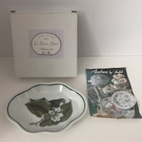 The Beautiful Bath Vintage Andrea by Sadek Moss Le Beau Bain Soap Dish Porcelain Mc Lean, 22101