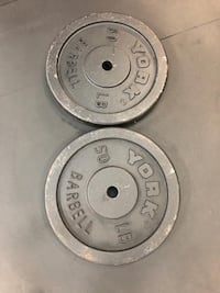 50lb weight plates  - price is firm