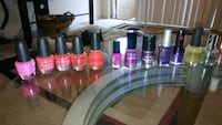nail polishes most used only 1-2 almost brand new 1361 mi
