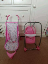 Baby Doll stroller and swing/highchair Odenton, 21113