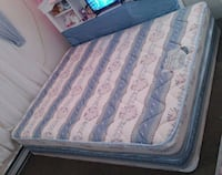 Clean Double bed mattress and boxspring  Surrey, V3V 7G1