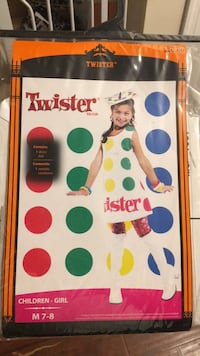 Girls size 7/8 Twister costume, never worn.   Sterling, 20164