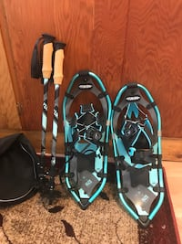 NEW Yukon Snow Shoes & Adjustable Poles- Price declined