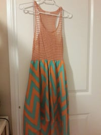 women's green and orange sleeveless dress Ottawa, K1G