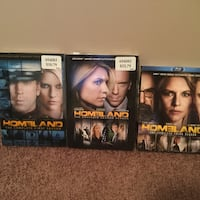 four assorted DVD movie cases Lakeshore, N0R