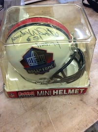 Mini Helmet Autographed signed By Randy White Hall of fame Baltimore, 21205