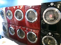 MAYTAG FRONT LOAD WASHER AND DRYER SET WORKING PERFECTLY 4 MONTHS WARR Baltimore, 21223