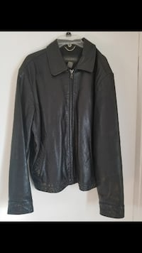 Banana Republic Black Leather Jacket  San Diego, 92102