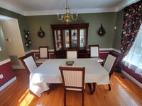 Dinning Table + 6chairs+ lead + china cabinet  Woodbridge, 22193