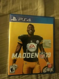 Sony PS4 Madden NFL 17 game case Dover, 17315