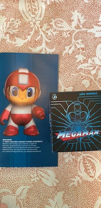megaman red varient figure  exclusive Hellertown, 18055