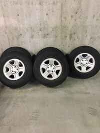 Jeep Wrangler Tires (All Seasons) West Vancouver, V7T 2W4
