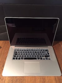 "Macbook Pro Retina 15"" Argent (Intel Core i7, 2.5 GHz, 16 Go RAM, 512 Go SSD) PARIS"