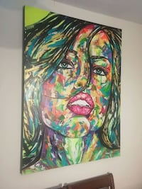 Abstract Model NEW Oil Painting 36x48 inches Toronto, M6J