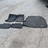 Cadillac CTS 2011 Weathertech Floor Liners Mississauga, L4W 2M9