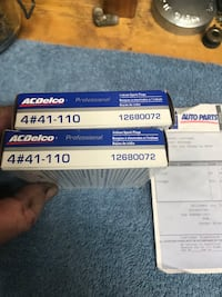 AC DELCO Brand New Spark Plugs