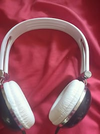 white and black corded headphones Kitchener, N2G 2X7