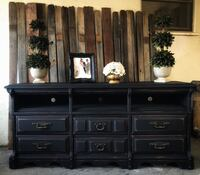 black wooden dresser with mirror Riverside, 92506