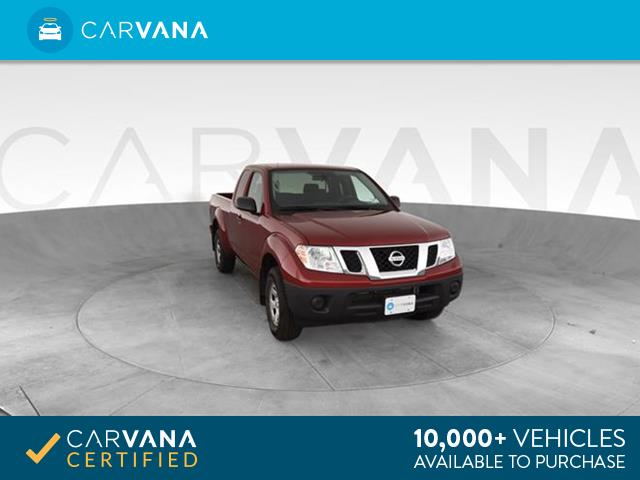 Photo 2019 Nissan Frontier King Cab pickup S Pickup 2D 6 ft Red <br
