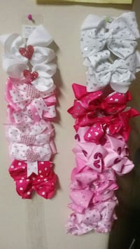 Girls pretty valentine hair bows Humble, 77338