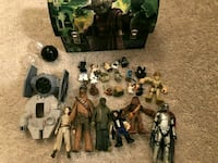 star wars figures toys lot Halton Hills