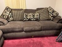 Brown sofa with 2 loveseats  Chantilly, 20151