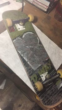 gray, green, and brown skateboard Vacaville, 95687