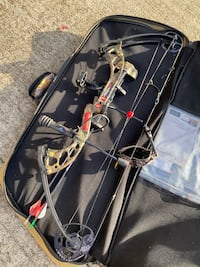 PSE Stinger Compound Bow package