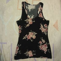 Floral tank top Winnipeg, R3J 1M4