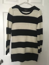 Black and white striped sweater 埃德蒙顿, T6J 2H7
