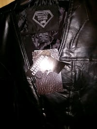 Leather Motorcycle Vest Theodore, 36582