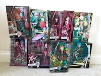 Monster high doll Christmas gift collection