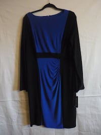 American Living Black and Blue dress DECATUR